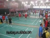 Professional Durable Vinyl Sports Flooring for Badminton