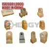 Stable performance steel crusher spare parts-hammer head