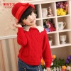 Girls Winter Top Children Christmas Woolen Sweater Dress