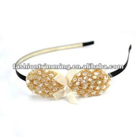 Fashion rhinestone bowknots headband
