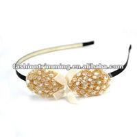 Fashion rhinestone bowknots headband