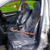 one-off plastic transparent auto seat covers