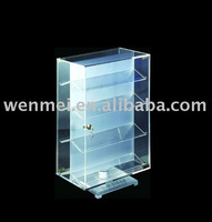 (AD-009) Acrylic counter rotating display case