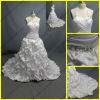 WR-022 Newest Halter Sweetheart Taffeta Wedding Gowns