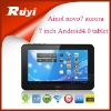 "7"" Tablet pc Ainol Aurora 2 novo 7 IPS Android 4.0 1.5GHz Dual Core 1G 16GB Capacitive"