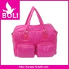 2012 zipper poly tote shoulder handbag autumn new style travel bag(BL53290TB-A)