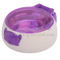 Purple Top Open Automatic Pet Bowl for 250ml