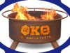 Phi Kappa Theta wood burning fireplace