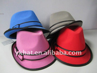 lady trilby hat