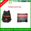 210T polyester leisure sports bag for promotion