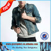 2013 Newest Style a Little Elastic Mens Denim Style Jacket