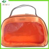 pvc non weave sewing bag for cosmetic
