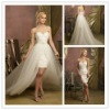 Latest design sweetheart bridal tulle wedding tulle