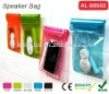 for beach waterproof function speaker for mobile phone