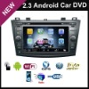 In Dash car dvd player Car multimedia On 2.3 Android GPS For NEW MAZDA 3