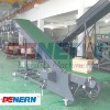 Full automatical loading conveyor for stuffing / stacking containers