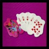 shaped paper playing cards