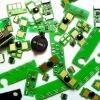 Compatible lexmark e232 toner chip