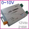 Auto dimmer 0~10V signal 18A/Channel 24V 432W dimmer switch transformer
