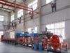 Belt conveyor boat-less reduction furnace with W and Mo powder
