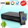High quality wireless Android2.2 TV box Google TV box IPTV 1080P HDD Media Player set top box