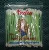 plastic bag 50pcs 100% of brand cotton swab ear buds