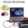 waterproof USB microscope500x ,700x usb Endoscope 4 adjust led light 10mm lens dropship