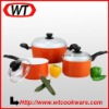 6-Pieces Forged Aluminum Ceramic Kitchenware