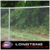 "2"" black galvanized barbed wire chain link fence"