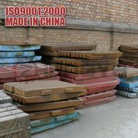 Zhengya good quality jaw plate with ISO certificate