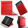 for apple ipad 2 case bag Leather Case 2011 fashion design with stand High quality