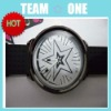 Silicone Wristband Wrist Watch with Plastic Surface UDTEK00803