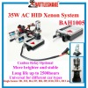 Car AC HID lighting xenon kit with internal Canbus relay optional