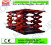 1.5t load capacity stationary scissor lift