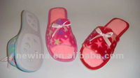 Women open toe indoor slipper