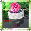 fashion 8 rows rhinestone wedding napkin ring