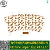 Manufacturer wholesale 7oz food grade disposable coffee cup paper sheet pe coated die cut paper fans