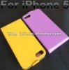 for iphone 5 flip real cow leather case 10 colors available