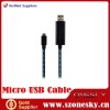 Smart Visible Flowing Current Micro USB Data cable