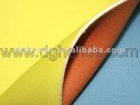 jersey fabric+SBR+jersey fabric