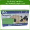 bamboo toothpicks with 800pcs per color box