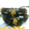 stocked leather bracelet ture lovers by heart ox bone bracelet promotional items
