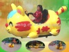 IAAPA inflatable battery car from professional manufacture