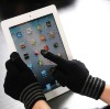 newest arrival! highest quality 2012 five fingers Touch screengloves for iphone