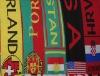 Club scarf vs. Soccer scarf vs. Football scarf vs.Fans scarf vs. Scarf vs. Sport Scarf vs. Jacquard scarf vs. Team scarf