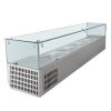 Tempered glass for display equipment