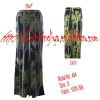Ladies' Printed Long Trousers & Pants & Garment & Apparel & Clothing & Clothes
