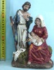 Xmas Decoration,Holy Family,Resin Figurine