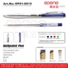 Ball Pen (stick Ball Pen Smooth Writing Colored with Transparent Barrel,Gel Pen )