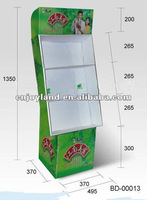 Pop showroom display stands